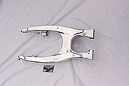Motorcycle Aluminum Swingarm AFTER Chrome-Like Metal Polishing and Buffing Services