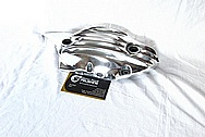 Aluminum Motorcycle Engine Cover Piece AFTER Chrome-Like Metal Polishing and Buffing Services / Restoration Service