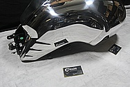 2012 BMW R nineT Aluminum Black Painted Gas Tank AFTER Chrome-Like Metal Polishing and Buffing Services / Restoration Service