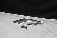 2012 BMW R nineT Aluminum Side Cover Piece AFTER Chrome-Like Metal Polishing and Buffing Services / Restoration Service