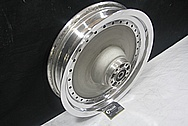Aluminum Motorcycle Wheel AFTER Chrome-Like Metal Polishing and Buffing Services / Restoration Service