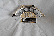 Ducati Steel Motorcycle Engine Cover Piece AFTER Chrome-Like Metal Polishing and Buffing Services / Restoration Services