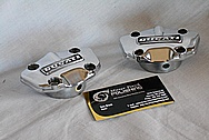 Ducati Motorcycle Engine Cover Pieces AFTER Chrome-Like Metal Polishing and Buffing Services / Restoration Services