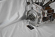 Aluminum Motorcycle Engine Case AFTER Chrome-Like Metal Polishing and Buffing Services / Restoration Services