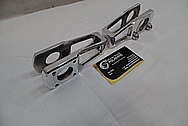 Aluminum Motorcycle Brackets AFTER Chrome-Like Metal Polishing and Buffing Services / Restoration Services
