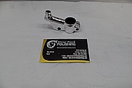 Steel Motorcycle Kickstand AFTER Chrome-Like Metal Polishing and Buffing Services / Restoration Services