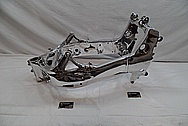 Aluminum Motorcycle Frames AFTER Chrome-Like Metal Polishing and Buffing Services / Restoration Services