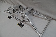 Aluminum Motorcycle Swing Arms AFTER Chrome-Like Metal Polishing and Buffing Services / Restoration Services