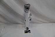 Aluminum Motorcycle Front Forks AFTER Chrome-Like Metal Polishing and Buffing Services / Restoration Services