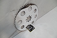 Motorcycle Sprocket Piece AFTER Chrome-Like Metal Polishing and Buffing Services / Restoration Services