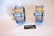 1959 German Moped Parts NSU Quickly TT (59cc) AFTER Chrome-Like Metal Polishing and Buffing Services