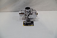 Aluminum Motorcycle Carburetor AFTER Chrome-Like Metal Polishing and Buffing Services / Restoration Services