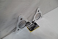 Aluminum Motorcycle Bracket Pieces AFTER Chrome-Like Metal Polishing and Buffing Services / Restoration Services