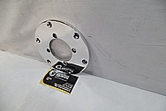Aluminum Motorcycle Disc AFTER Chrome-Like Metal Polishing and Buffing Services / Restoration Services