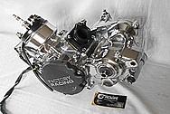 Motorcycle Aluminum Factory Racing Engine Block,Engine Covers and Carburetor AFTER Chrome-Like Metal Polishing and Buffing Services / Restoration Services