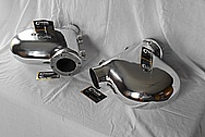 Aluminum Motorcycle Peices AFTER Chrome-Like Metal Polishing and Buffing Services / Restoration Services