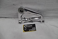 Aluminum Motorcycle Bracket AFTER Chrome-Like Metal Polishing and Buffing Services / Restoration Services