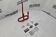 Steel & Aluminum Motorcycle Parts Project BEFORE Chrome-Like Metal Polishing - Aluminum & Steel Polishing - Motorcycle Parts Polishing