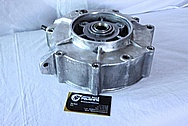 Motorcycle Aluminum Engine Cases BEFORE Chrome-Like Metal Polishing and Buffing Services / Restoration Services