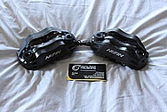 Motorcycle Steel Nisin Front Brake Calipers BEFORE Chrome-Like Metal Polishing and Buffing Services / Restoration Services