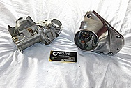 1976 Harley Davidson Shovelhead Aluminum Motorcycle Engine Pieces BEFORE Chrome-Like Metal Polishing and Buffing Services / Restoration Services