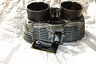 Yamaha Aluminum Cylinder BEFORE Chrome-Like Metal Polishing and Buffing Services / Restoration Services