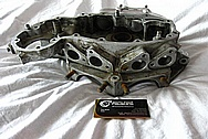 1942 Harley Davidson WLA Aluminum Engine Piece BEFORE Chrome-Like Metal Polishing and Buffing Services / Restoration Services