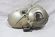 Buell XP Aluminum Motorcycle Engine Cover Piece BEFORE Chrome-Like Metal Polishing and Buffing Services / Restoration Services