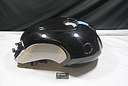 2012 BMW R nineT Aluminum Black Painted Gas Tank BEFORE Chrome-Like Metal Polishing and Buffing Services / Restoration Service