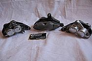 2005 1700cc Yamaha Roadstar Aluminum Brake Calipers BEFORE Chrome-Like Metal Polishing and Buffing Services