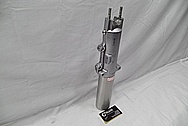 Aluminum Motorcycle Front Forks BEFORE Chrome-Like Metal Polishing and Buffing Services / Restoration Services