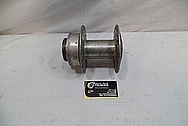 Aluminum Motorcycle Hub Piece BEFORE Chrome-Like Metal Polishing and Buffing Services / Restoration Services