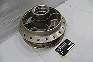 Aluminum Motorcycle Hub BEFORE Chrome-Like Metal Polishing and Buffing Services / Restoration Services