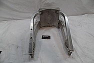 Aluminum Motorcycle Swingarm BEFORE Chrome-Like Metal Polishing and Buffing Services / Restoration Services