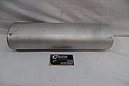 Steel FMF Exhaust for Motorcycle BEFORE Chrome-Like Metal Polishing and Buffing Services / Restoration Services