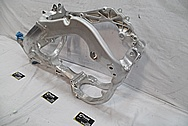 2016 Honda CRF 250R Aluminum Motorcycle Frame BEFORE Chrome-Like Metal Polishing and Buffing Services / Restoration Services