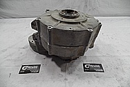 1967 Harley Davidson Aluminum Engine Case BEFORE Chrome-Like Metal Polishing and Buffing Services / Restoration Services