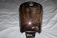 Honda Motorcycle Aluminum Gas Tank BEFORE Chrome-Like Metal Polishing and Buffing Services / Restoration Services