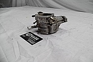 Harley Davidson Aluminum Carburetor BEFORE Chrome-Like Metal Polishing / Restoration