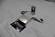 Harley Davidson Aluminum Bracket BEFORE Chrome-Like Metal Polishing / Restoration