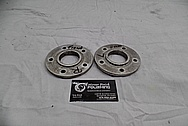 Harley Davidson Aluminum Hub Pieces BEFORE Chrome-Like Metal Polishing / Restoration