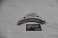Harley Davidson Aluminum Bracket Piece BEFORE Chrome-Like Metal Polishing / Restoration