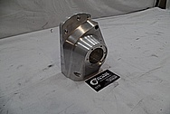 1978 Harley Davidson Lowrider Aluminum Engine Cover Piece BEFORE Chrome-Like Metal Polishing