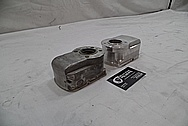 1978 Harley Davidson Lowrider Aluminum Engine Cover Pieces BEFORE Chrome-Like Metal Polishing