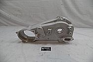 1978 Harley Davidson Lowrider Aluminum Engine Cover Pieces BEFORE Chrome-Like Metal Polishing - Aluminum Polishing
