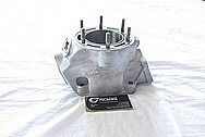 Honda ATV 4-Wheeler Aluminum Engine Case BEFORE Chrome-Like Metal Polishing and Buffing Services