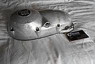 Vintage Aluminum Motorcycle Engine Cover Pieces BEFORE Chrome-Like Metal Polishing - Aluminum Polishing Service