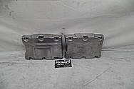 Aluminum Motorcycle Engine Rocker Box Cover Piece BEFORE Chrome-Like Metal Polishing - Aluminum Polishing Services