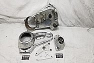 Aluminum Motorcycle Parts BEFORE Chrome-Like Metal Polishing and Buffing Services / Restoration Services - Aluminum Polishing