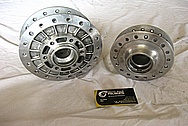 Aluminum Motorcycle Hub BEFORE Chrome-Like Metal Polishing and Buffing Services